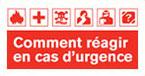 comment réagir en cas d'urgence